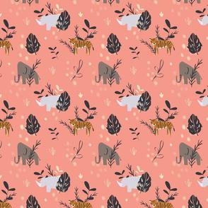 Precious Safari Animals