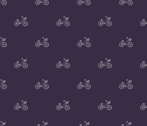 I Want to Ride My Bicycle fabric by allhaildesign on Spoonflower - custom fabric