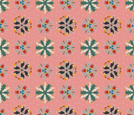 Tropical Birds fabric by allhaildesign on Spoonflower - custom fabric