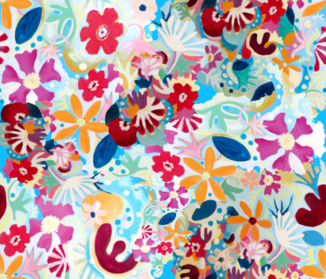 coralreef fabric by marigoldpink on Spoonflower - custom fabric