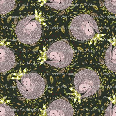 Pangolin print-01