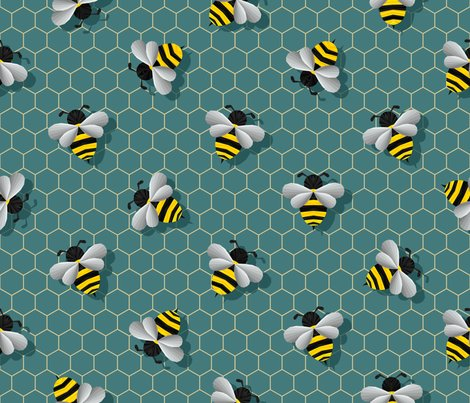 Spoonflower-deep-green-bumbles-artwork_shop_preview