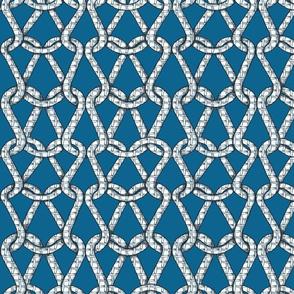 endless knots (light blue white)50