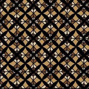 Tiled Lily - Brown
