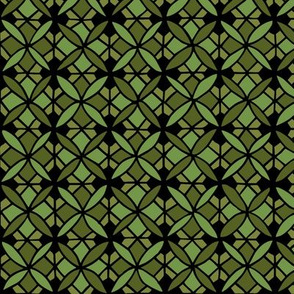 Tiled Lily - Green