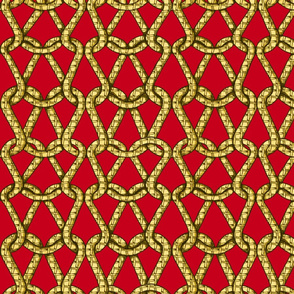 endless knots (red  yellow)50