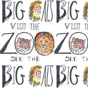 Big cats need habitats not zoos-ed