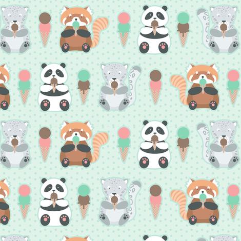 Endangered Ice Cream fabric by robinskarbek on Spoonflower - custom fabric