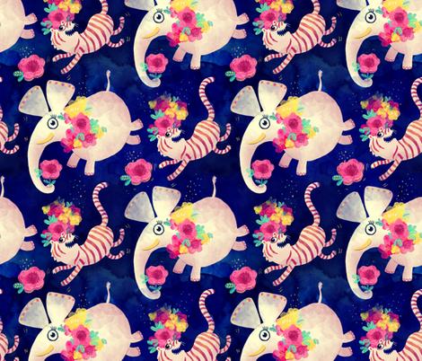 Indian Stars fabric by monika_suska on Spoonflower - custom fabric