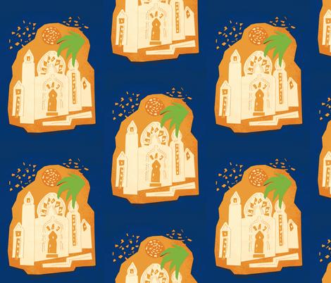 Marrakesh Midnight fabric by hot_office on Spoonflower - custom fabric