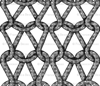 endless knots (BW)