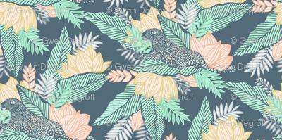 Pastel Jungle Leopard