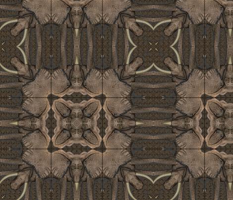 AFRICAN ELEPHANT land fabric by llola_lane on Spoonflower - custom fabric