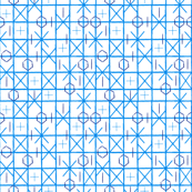 Geometric Shibori Grid