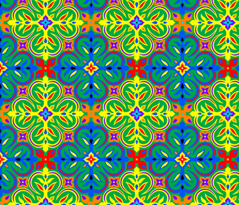 Taking Us to Marrakesh fabric by enid_a on Spoonflower - custom fabric
