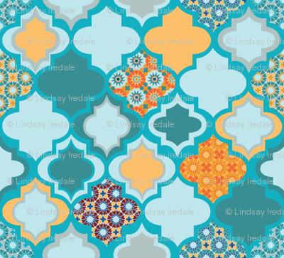 Tiles of Marrakesh