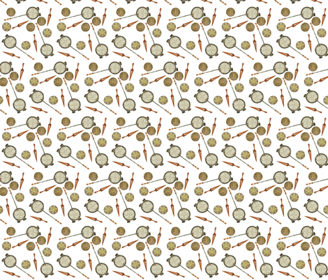 Krumkaker Cookies fabric by sowgoodgreta on Spoonflower - custom fabric