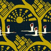 Siberian Crane print