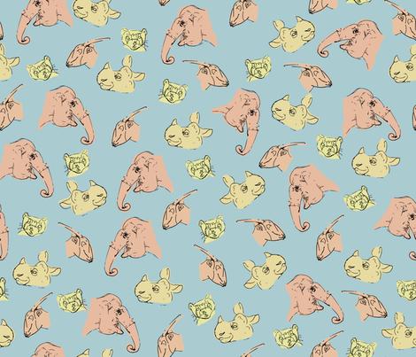 Endangered Species fabric by doris_rguez on Spoonflower - custom fabric