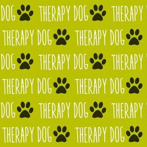 Therapy Dog Green
