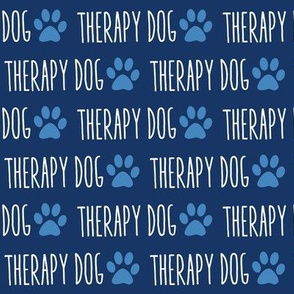 Therapy Dog Blue