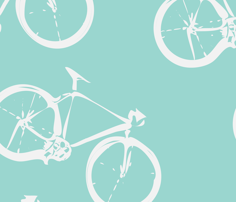 Go  Cycle! fabric by 2329_design on Spoonflower - custom fabric