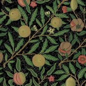 Fruit___william_morris___original_on_black___peacoquette_designs___copyright_2018_shop_thumb
