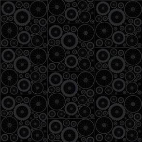 Cycle Wheels in Black