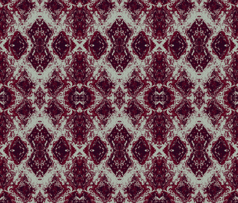 Elegant Holiday Ikat with a limited palette fabric by lisakling on Spoonflower - custom fabric