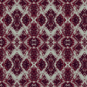 Elegant Holiday Ikat with a limited palette