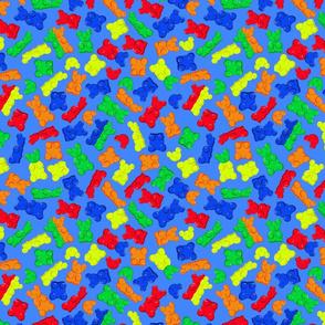 macabre gummy bears blue