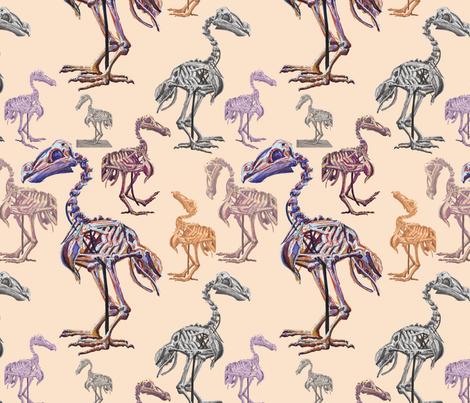 Dodos fabric by blueskitty on Spoonflower - custom fabric