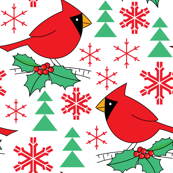 cardinals-with-holly-snowflakes-trees