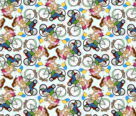 cycles fabric by hannafate on Spoonflower - custom fabric