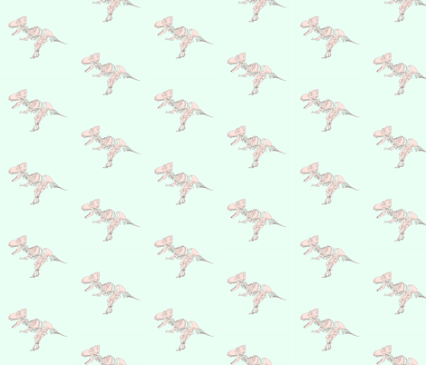 pasteltrex fabric by strange_traces on Spoonflower - custom fabric