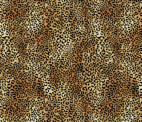 Leopard_tan fabric by schatzibrown on Spoonflower - custom fabric
