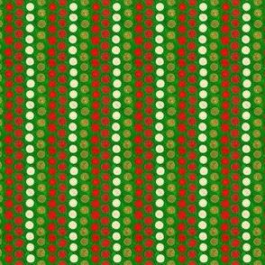 Christmas Blossom: Dot Stripe