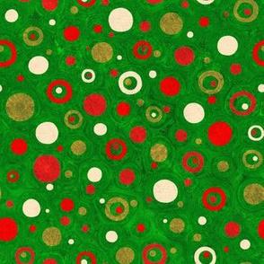 Christmas Blossom: Ditsy Dots