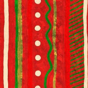 Christmas Blossom: Holiday Stripes