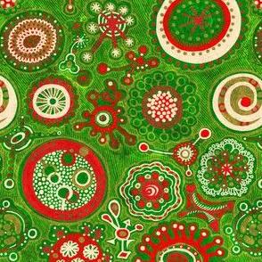 Christmas Blossom: Playful Shapes-BIT