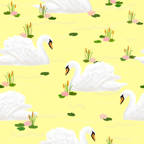 Swan (yellow)