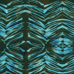 Zebra Ink turq