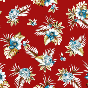 Alana Floral - Red