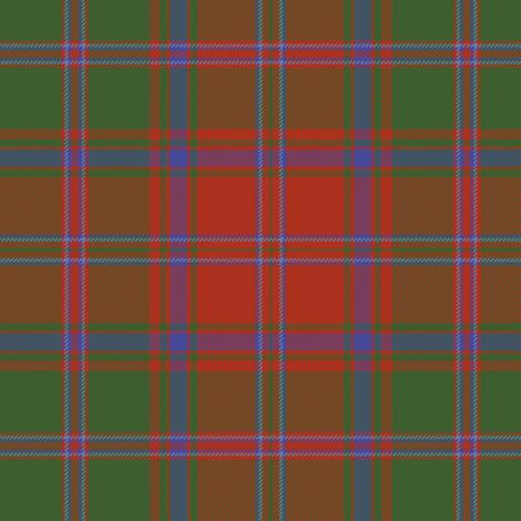 """Stewart of Appin 1906 tartan, 6"""" fabric by weavingmajor on Spoonflower - custom fabric"""