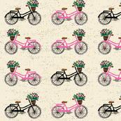 Sweet cycling beige pink