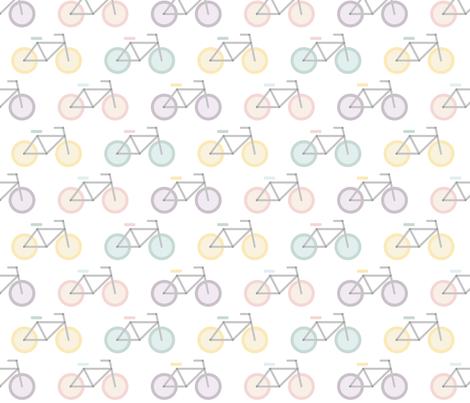 Pattern_Glass_Bikes fabric by eva_martínez on Spoonflower - custom fabric