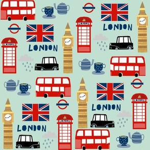 london england fabric world cities minty