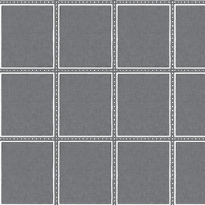 Dotted Window Pane  |  Light Gray