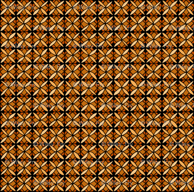 Tiled Lily - Orange