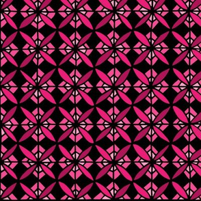 Tiled Lily - Pink